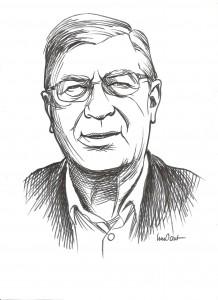 Portrait d' Alain Dumait par Innocent